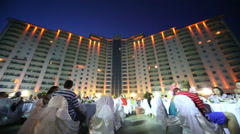 Hotel Goldcity party in Alanya, Turkey. Five-star hotel Goldcity Stock Footage