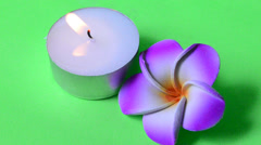 Candle aroma therapy Stock Footage