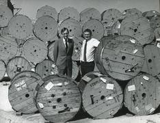 Cable company stock Stock Photos