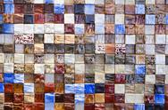 Stock Photo of Ceramic tiles a mosaic