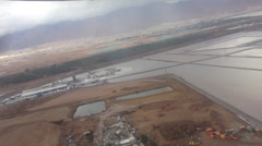 Flight from Eilat to Tel aviv Stock Footage