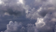 Stock Video Footage of Clouds 60 seconds LM02 Heavenly Sky