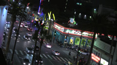 Intersection of Hollywood and Highland Stock Footage