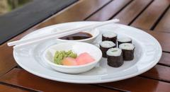 sushi hoso maki - stock photo