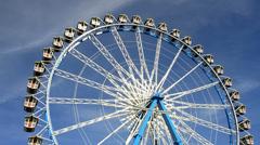 Bavarian Ferris wheel at Munich Stock Footage