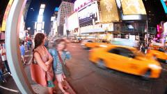 NYC Times Square timelapse Stock Footage