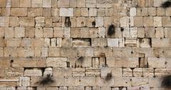Stones of the western wall, jerusalem Stock Photos
