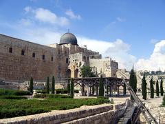 Al aqsa mosque in jerusalem. Stock Photos
