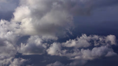 Clouds 60 seconds LM09 Heavenly Sky - stock footage