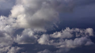 Stock Video Footage of Clouds 60 seconds LM09 Heavenly Sky