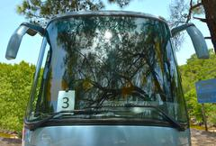 Stock Photo of sightseeing bus number 3