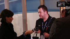 Interviewing Panasonic about new GH4 (4K DSLR) Stock Footage