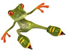 Stock Illustration of Frog (animal)