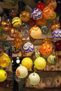 Murano glass baubles Stock Photos