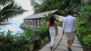 Stock Video Footage of Couple on honeymoon