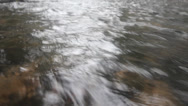 Stock Video Footage of water quickly runs. prompt watercourse