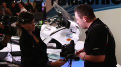 BVE show, first look at Panasonic GH4 (4K DSLR) Stock Footage