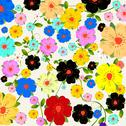 Stock Photo of Floral fantasy background