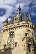 Porte cailhau in bordeaux, aquitaine, france Stock Photos