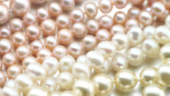 Stock Video Footage of pearl jewelry mixed