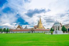 Grand palace, bangkok, thailand Stock Photos