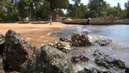 Africa - West African Beach3 Stock Footage