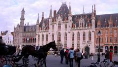 Houses of Bruges (Brugge, Belgium). Stock Footage
