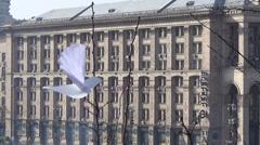 Ukraine, Kiev, revolution Stock Footage