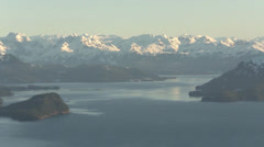 Alaska Scenery from a C-17 Stock Footage