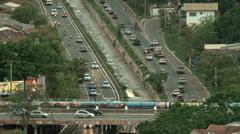 Avenue - Traffic Stock Footage