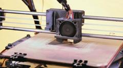 3D Printer Stock Footage