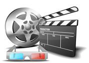 Stock Illustration of film 3d
