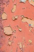 Old obsolete cracked paint texture wall abstract Stock Photos