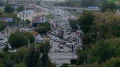 Types of Tyumen. Yugra, Western Siberia, Russia. Stock Footage