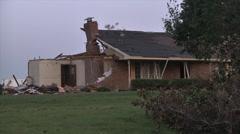 Tornado Damage - Oklahoma Stock Footage