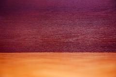 Brown claret tinted boards texture abstract - stock photo