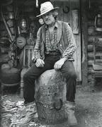 Woodcarver, 1980s Stock Photos