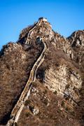 great wall of china - stock photo