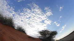 Kalahari Dune Scenic on Jib Stock Footage