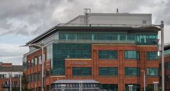 J.p morgan building, dublin ireland Stock Photos