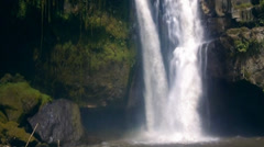 Tegenungan Waterfall in Bali Stock Footage
