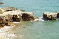 atlantic coast - stock photo