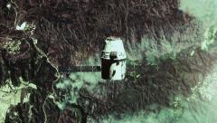 Satellite render in 4k. Stock Footage