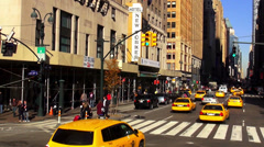 Famous Hotel New Yorker Manhattan Stock Footage