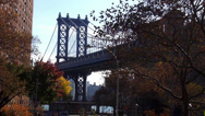 Stock Video Footage of Manhattan Bridge New York