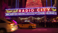 Stock Video Footage of radio City Music Hall at Rockefeller Center