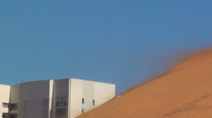 0536 Sand storm Stock Footage