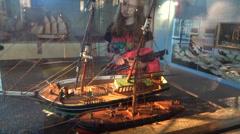 Maritime museum barcelona Stock Footage