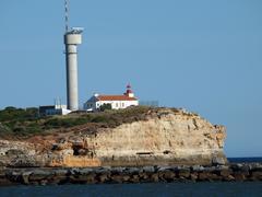 portimao-resort on the atlantic coast of the algarve - stock photo