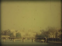 Paris, France 1970s - Super 8mm film 2.  Archival, archive. Stock Footage